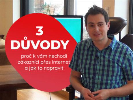 3 důvody, proč nechodí zákazníci přes internet