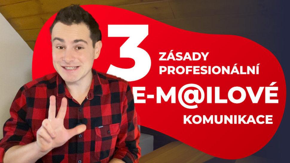 3 zásady profesionální e-mailové komunikace